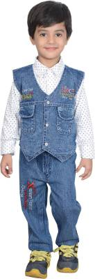 Nikky Fashion Boys Casual Jacket Jeans