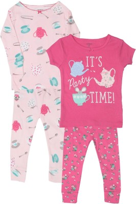 Carter's Girls Casual Top Pyjama(Pink) at flipkart