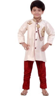 Arshia Fashions Boys sherwani and Churidar Set  available at flipkart for Rs.2999