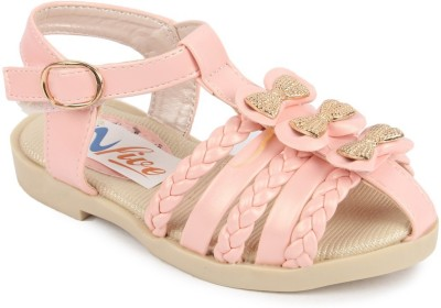 N Five Girls Buckle Flats(Pink)