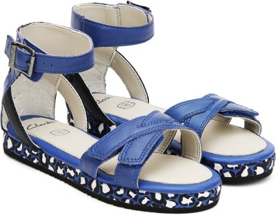 Clarks Girls Sports Sandals at flipkart
