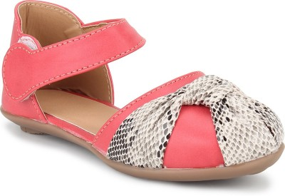 Stepee Girls Velcro Moccasins(Multicolor) at flipkart
