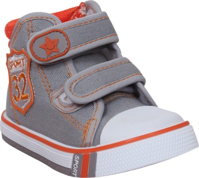 Doink Boys Slip on Casual Boots(Grey) at flipkart