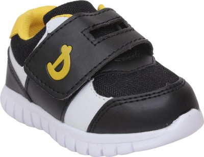 Doink Boys Slip on Casual Boots(Black) at flipkart