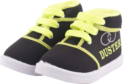 Hot-X Boys & Girls Lace Casual Boots(Black)  available at flipkart for Rs.179