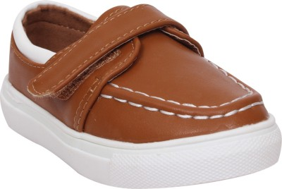 Doink Boys Slip on Casual Boots(Brown) at flipkart