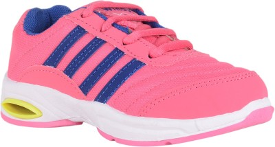 Windy Girls Lace Running Shoes(Pink)