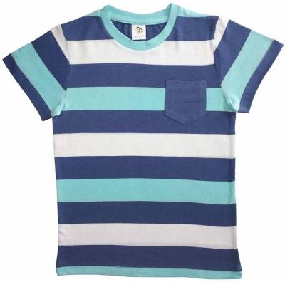 Luke and Lilly Boys Striped Cotton T Shirt