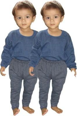 Kifayati Bazar Top - Pyjama Set For Boys & Girls(Multicolor, Pack of 2)
