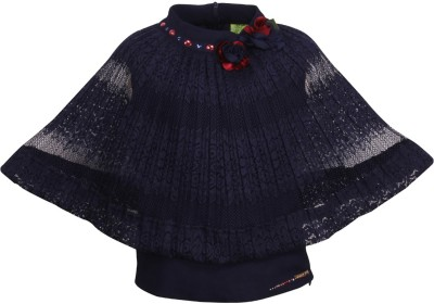 Cutecumber Baby Girls Party Lace Top(Dark Blue, Pack of 1) Flipkart