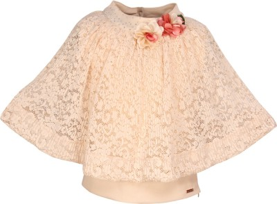 Cutecumber Girls Party Lace Top(White, Pack of 1) Flipkart