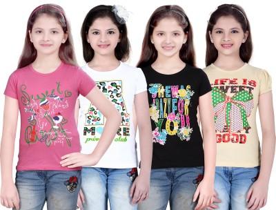 e9e5f33d5 70% OFF on Sini Mini Girls Cotton Top(Multicolor