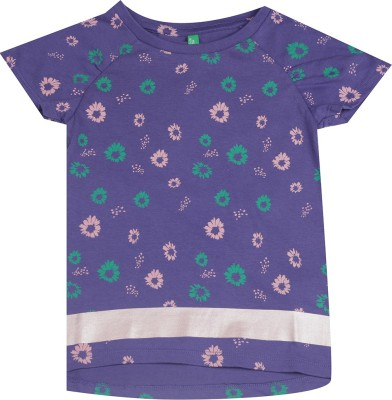 United Colors of Benetton Baby Girls Casual Cotton Blend Top at flipkart