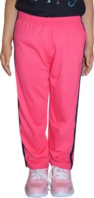 69GAL Track Pant For Girls(Pink Pack of 1) at flipkart