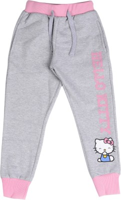 Hello Kitty Track Pant For Girls(Grey Pack of 1) at flipkart