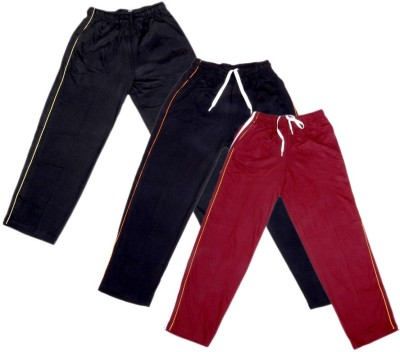 Indistar Track Pant For Boys & Girls(Multicolor Pack of 3)