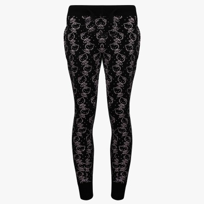 Hello Kitty Track Pant For Girls(Black Pack of 1) at flipkart
