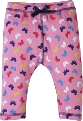 Jute Baby Track Pant For Girls(Pink Pack of 1)