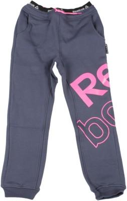 Reebok Track Pant For Girls(Blue Pack of 1) at flipkart
