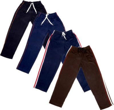 IndiWeaves Track Pant For Boys & Girls(Multicolor Pack of 4)