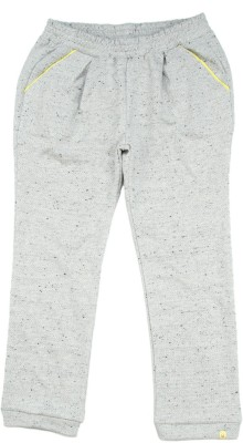 United Colors of Benetton Track Pant For Girls(Grey Pack of 1)