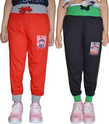 69GAL Track Pant For Girls(Multicolor Pack of 2) at flipkart