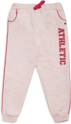 FS MINI KLUB Track Pant For Girls(Pink Pack of 1) at flipkart