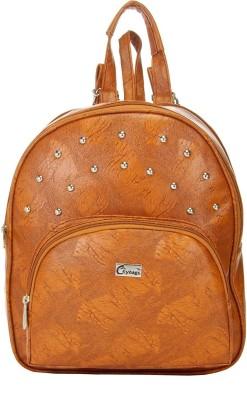 JG Shoppe JGKitPack124 8 L Backpack Tan JG Shoppe Backpacks