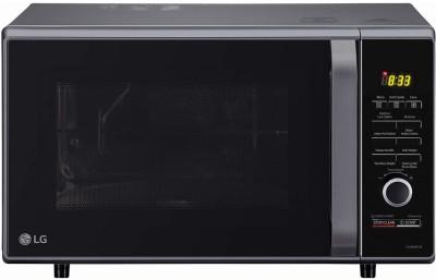 LG 28 L Convection & Grill Microwave Oven(MJ2886BFUM.DBKQILN, Black)