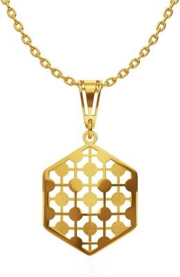 Malabar Gold and Diamonds PDGEDZRURGU110_T 18kt Yellow Gold Pendant