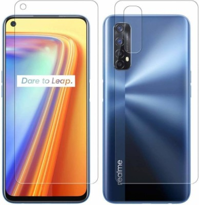 Polenta Front and Back Screen Guard for REALME 7(Pack of 2)