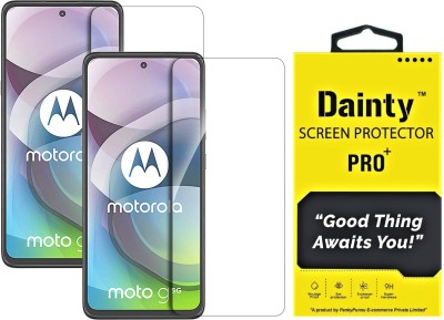 Dainty Tempered Glass Guard for Motorola Moto G 5G(Pack of 2)