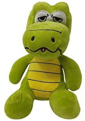 TEMSON Toy Blaster High Quality 25CM Plush Stuffed Animal Lovely Soft Stuffed Dinosaur Stuffed Animals Toys,Green in Colour  - 25 cm(Green)