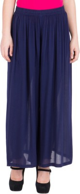 LUJOSO Women Blue Trousers