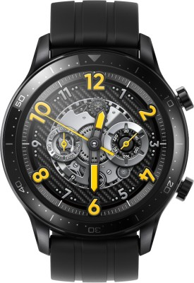 realme Watch S Pro(Black Strap, Regular)