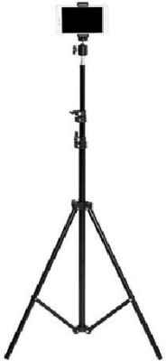 FRAONY Popular Best Portable Camera Stand ,Selfie Studio Lighting Photography Stand ,video Recording Stand With High Quality Tripod, Tripod Ball Head(Black, Supports Up to 4000 g)