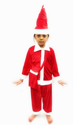 Shree Balaji Fancy Dress Santa Claus Costume Christmas Dress for Kids Kids Costume Wear