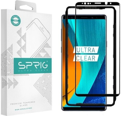 Sprig Tempered Glass Guard for Samsung Galaxy Note 9(Pack of 1)