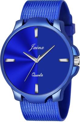 Jainx JM389 Blue Mesh Band Analog Watch   For Men Jainx Wrist Watches