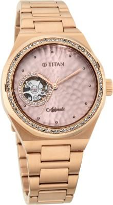 Titan 95131WM01 Animalia Analog Watch - For Women