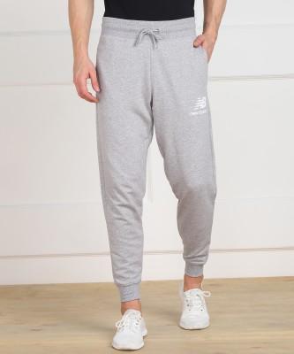 New Balance Solid Men Grey Track Pants
