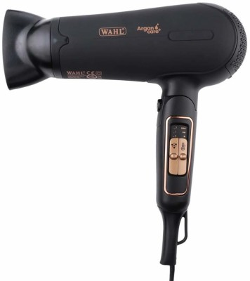 Wahl India Argan Oil Infused Hair Dryer WCHD8-1324 Hair Dryer(2200 W, Black)