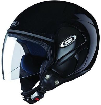 STUDDS CUB OPEN FACE - L Motorbike Helmet(Black)