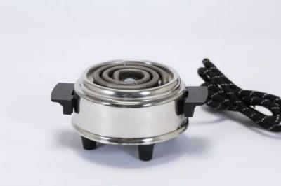 VIDS Mini500 Electric Cooking Heater (1 Burner) Radiant Cooktop(Silver, Jog Dial)