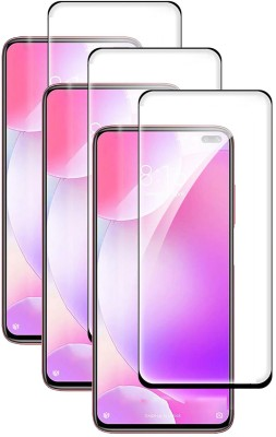 Fovtyline Edge To Edge Tempered Glass for Poco X2, Poco X3, Poco M2 Pro, Mi Redmi Note 9 Pro, Mi Redmi Note 9 Pro Max(Pack of 3)