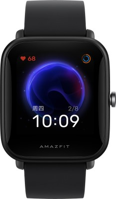 huami Amazfit Bip U Smartwatch(Black Strap, Regular)