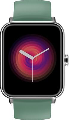 Noise ColorFit Pro 3 Smartwatch(Green Strap, Regular)