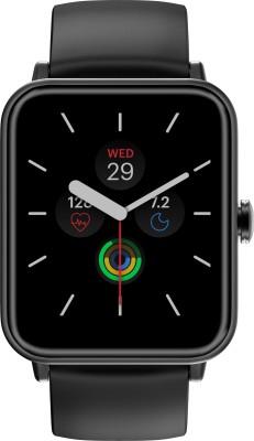 Noise ColorFit Pro 3 Smartwatch(Black Strap, Regular)