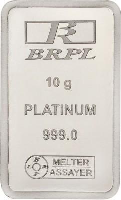 Bangalore Refinery 999 Purity Gram 10 g Platinum Bar Bangalore Refinery Coins   Bars