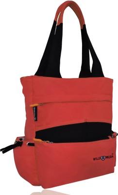 Wildmoda Women Black, Orange Shoulder Bag Wildmoda Handbags